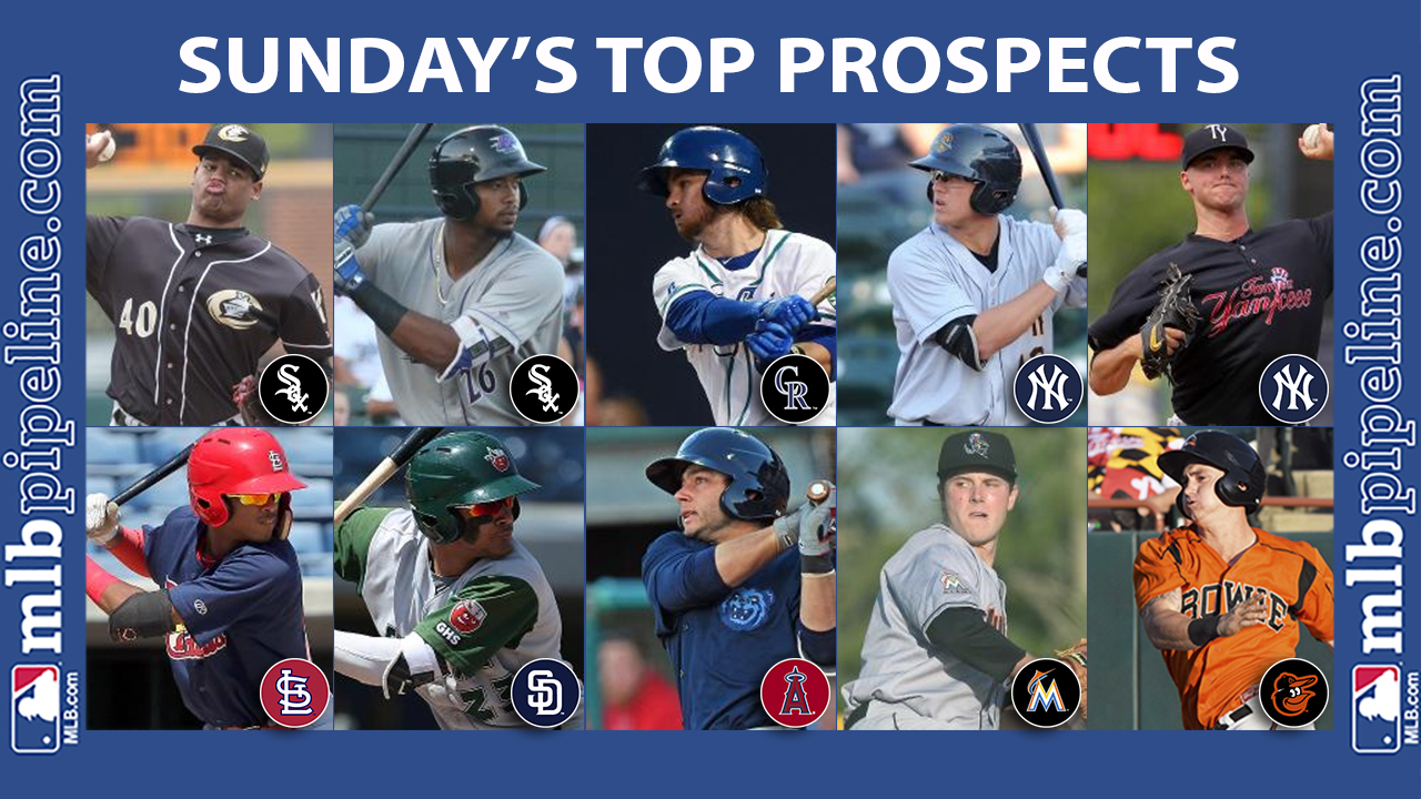 Sunday's best: Lopez piles up strikeouts for Charlotte